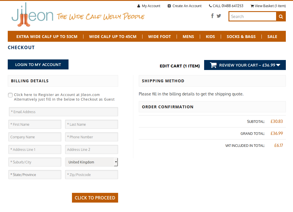 Bigcommerce One Step Checkout In jileon