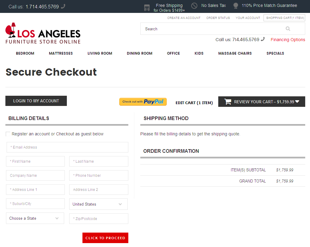 Bigcommerce One Step Checkout In los