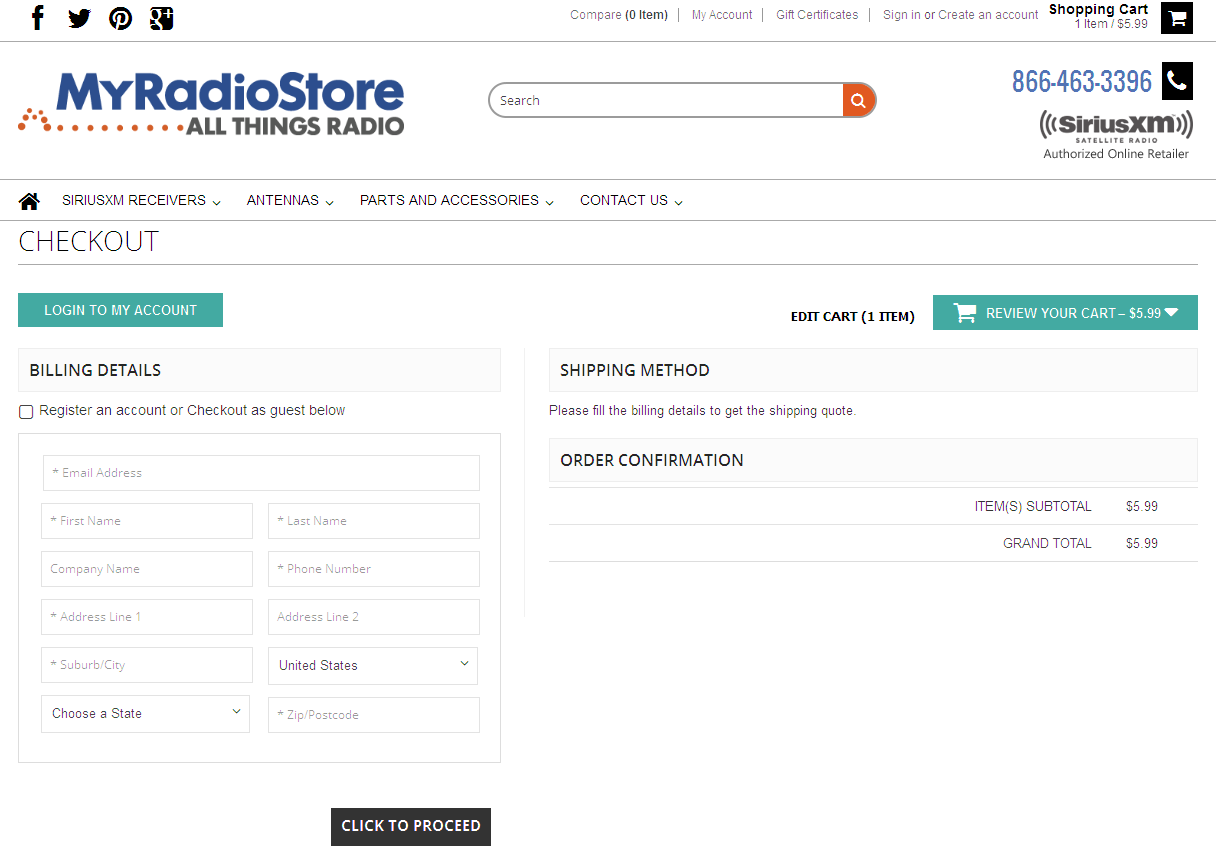 Bigcommerce One Step Checkout In myradio