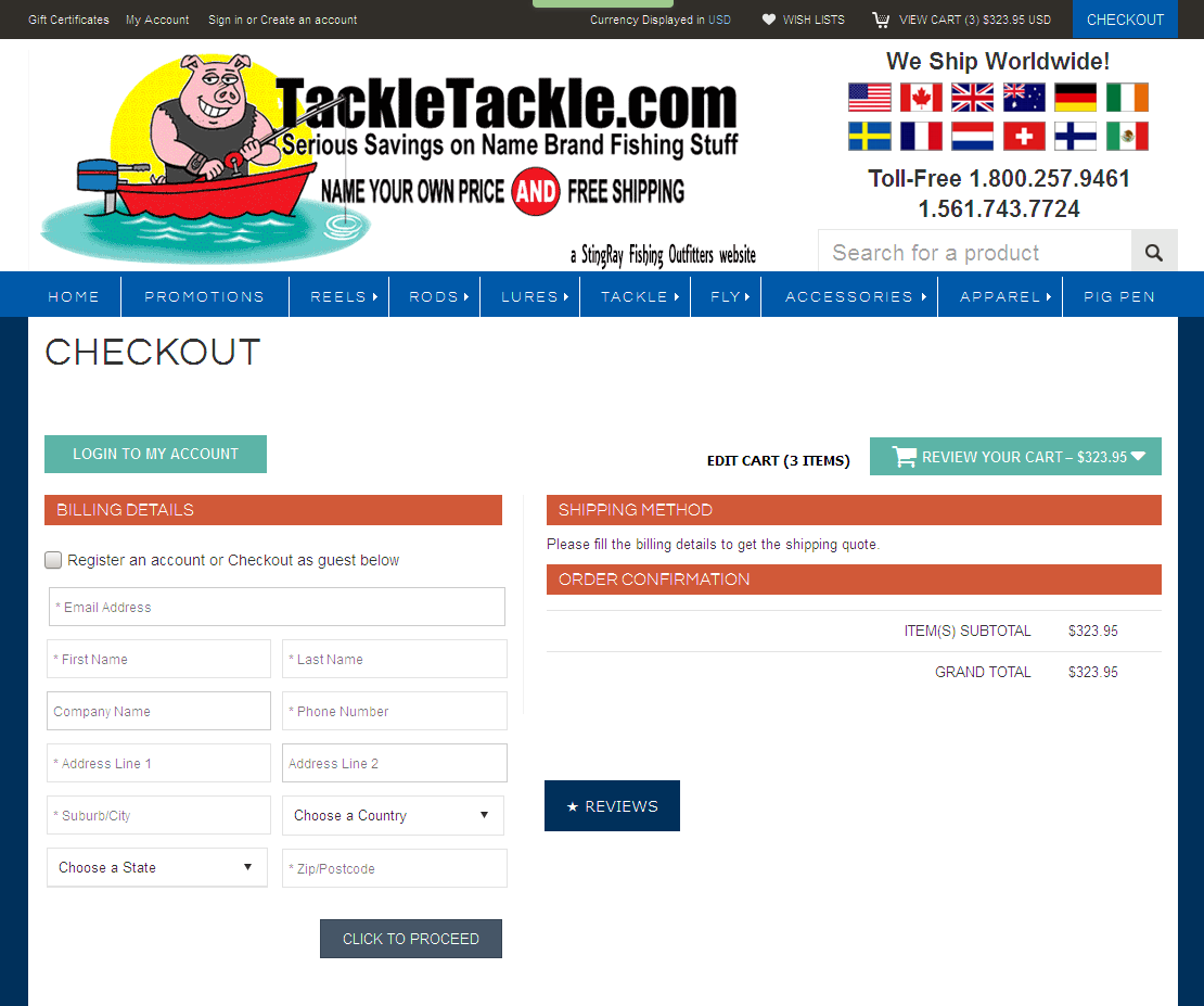 Bigcommerce One Step Checkout In Tackletackle