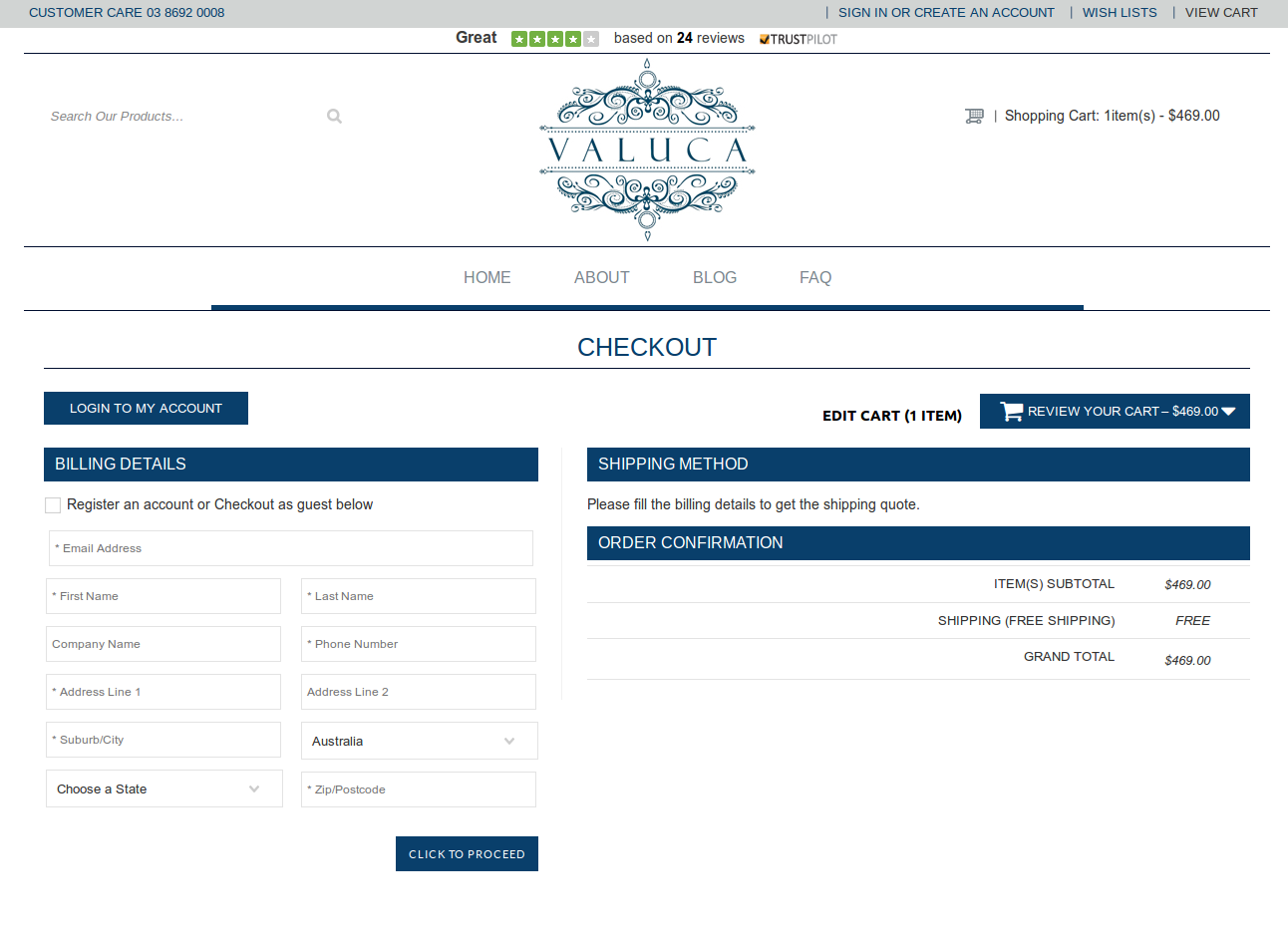 Bigcommerce One Step Checkout In valcua
