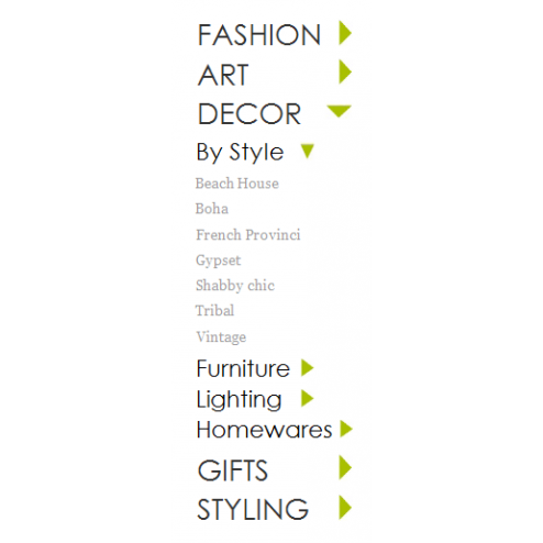 Expandable Accordion Category Navigation - Bigcommerce Add-ons