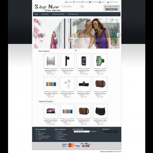 ShopNow - Bigcommerce Template (Default)