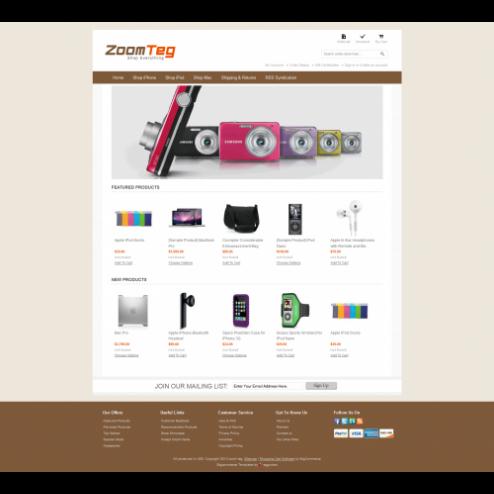 ZoomTeg - Bigcommerce Template