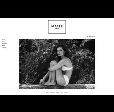 Matteswim - Bigcommerce  website development
