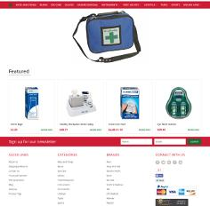 Shopfirstaid - Bigcommerce  website development