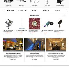 Louielighting - Bigcommerce  website development